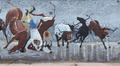 Mural on a building in the Stockyards District of Fort Worth, Texas LCCN2014632928.tif
