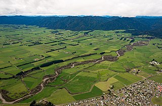Murupara Minor urban area in Bay of Plenty, New Zealand