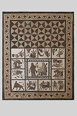 Mosaico de los Trabajos de Hércules (Madrid, M.A.N.)