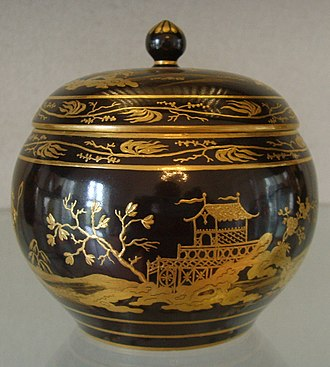 Porcelain Museum (Florence) - Image: Museo delle porcellane di Firenze, porcellane viennesi a cineserie, 1799, 01