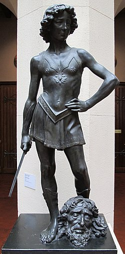 Museo pushkin, calchi, verrocchio, david 01.JPG