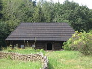 Museum of Folk Architecture and Ethnography in Pyrohiv - old wooden building - 2423-1.jpg