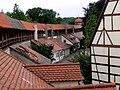 Nördlingen Blick von Stadtmauer Deininger Tor Richtung Reißturm.jpg