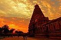 N-TN-C192 Brihadeeswarar Temple at Sunset.jpg