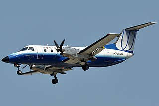 Embraer EMB 120 Brasilia Commuter airliner by Embraer