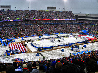 New Era Field - View of stadium during the 2008 NHL Winter Classic.