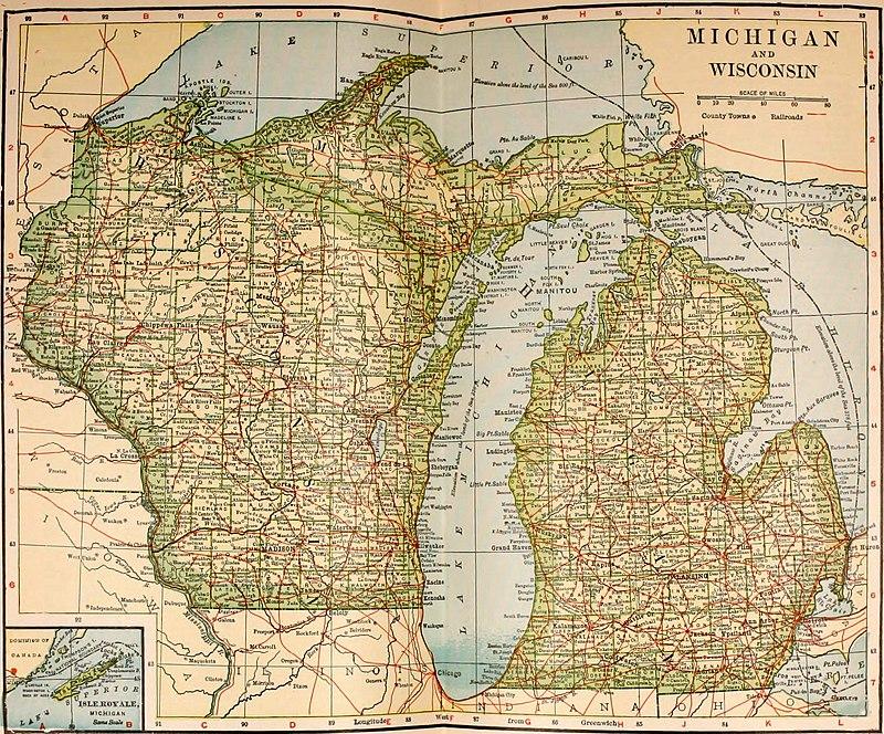 The New International Encyclopædia/Michigan - Wikisource