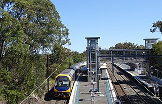 Central Coast & Newcastle Line rail service in New South Wales, Australia