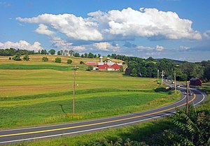 New York State Route 17M - Rural scenes in Chester