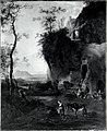 Naar Adam Pijnacker - Zuidelijk landschap met op de voorgrond een vrouw met ezel, - NG.M.02145 - National Museum of Art, Architecture and Design.jpg