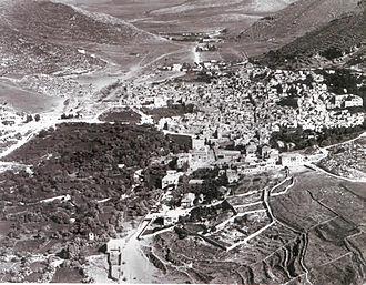 Nablus - Nablus in 1918