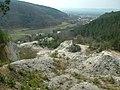 Nad lomom, pohlad na zapad - panoramio - Marián Hubinský.jpg