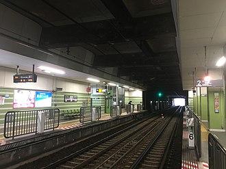 Nagahara Station (Tokyo) - Station platforms, 2019