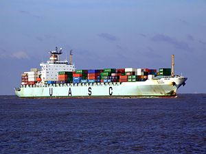 Najran p1 approaching Port of Rotterdam, Holland 25-Jan-2007.jpg