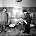 Nasser receiving Ratan Kumar Nehru the Indian Ambassador in Cairo (02).jpg
