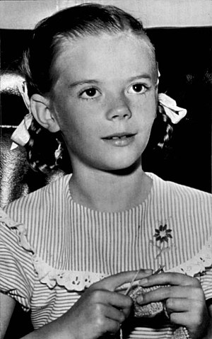 Natalie Wood - Wood as Susan Walker in Miracle on 34th Street, 1947