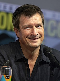 Nathan Fillion a 2018-as San Diego Comic-Con-on