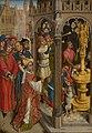 Navolger van Rogier van der Weyden - St Augustine Sacrificing to a Manichaean Idol (^) - SK-A-2057 - Mauritshuis.jpg