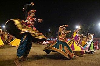 Angarkha - Image: Navratri Garba
