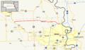 Nebraska Highway 36 map.png