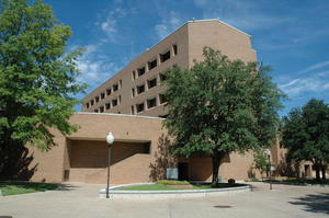 Nedderman Hall - Nedderman Hall in 2010
