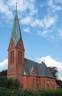 Neogotische Kirche in Kronprinzenkoog.jpg