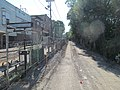 Neponset Trail construction next to Central Avenue station, August 2016.JPG