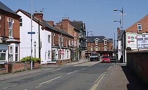 Netherfield, Nottinghamshire - Image: Netherfield MMB 01 Meadow Road