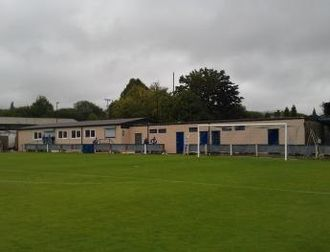 Glossop North End A.F.C. - Glossop's new clubhouse