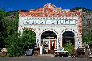 New Pine Creek, Oregon - New Pine Creek store
