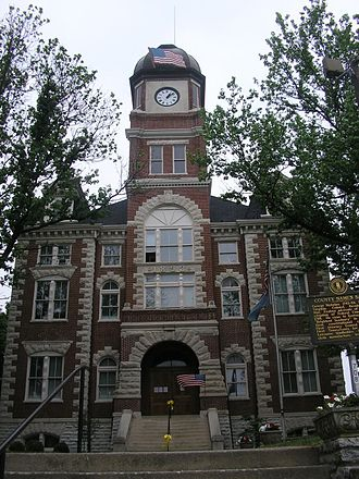 Nicholas County, Kentucky - Image: Nicholas County Kentucky Courthouse