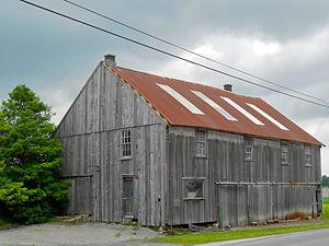 Nickel Mines, Pennsylvania - Barn in town