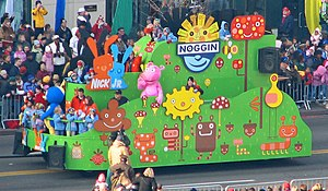 Noggin (brand) - Noggin's float at America's Thanksgiving Parade in 2005.