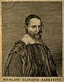 Nicolas Claude Fabri de Peiresc. Line engraving after C. Mel Wellcome V0004576.jpg