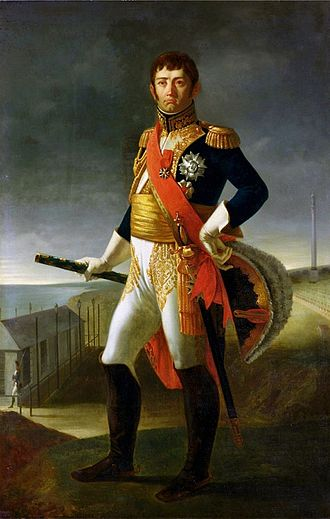 Battle of the Bidassoa - Marshal Nicolas Soult by L.H. de Rudder.