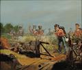 Niels Simonsen - Scene fra Treårskrigen, fremrykning mod fjenden.png