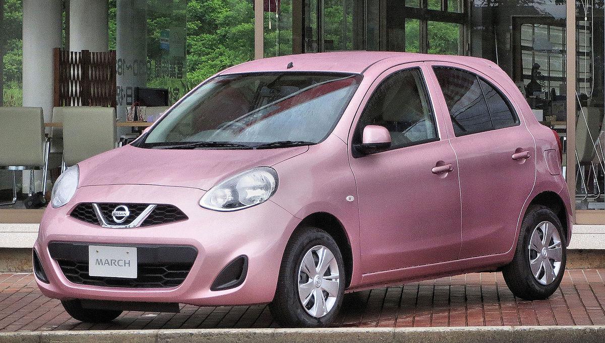 Nissan March K13 1.2X V Selection.JPG