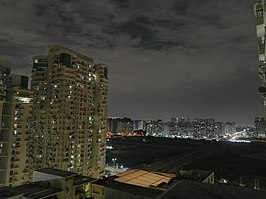 Noida Sector 78-76 Skyline night view.jpg