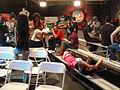 Noobz Movie Shoot - Jon Gries, Jason Mewes, Zelda Williams, and Casper Van Dien between takes (6317023624).jpg