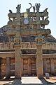 North Gateway - Stupa 1 - Sanchi Hill 2013-02-21 4274.JPG