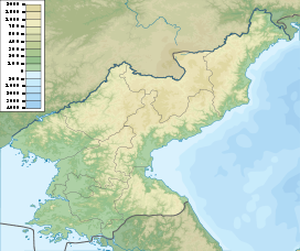 Baekdu Mountain is located in North Korea