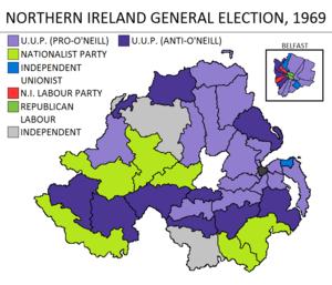 Northern Ireland general election, 1969 - Image: Northern Ireland general election 1969