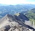 Northwest ridge of Lenzer Horn.jpg