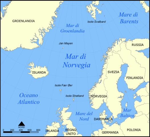Cartina Muta Della Norvegia.Mappa Norvegia Muta