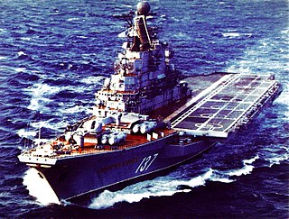 <i>Kiev</i>-class aircraft carrier