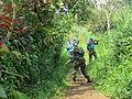 Ntoto, Walikale, Nord-Kivu. RD Congo- Une patrouille de domination de terrain était menée par le bataillon indien de la Force de la MONUSCO à Ntoto (21131747585).jpg