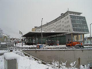 Nordostbahnhof (Nuremberg U-Bahn) metro station in Nuremberg, Germany