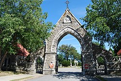 Oak Grove Cemetery in Fall River, Massachusetts
