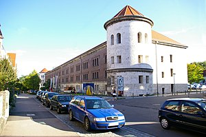 Fortresses of the German Confederation - Reduit of the Obere Donaubastion in Ulm