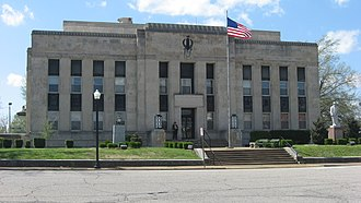 Union City, Tennessee - Obion County Courthouse, downtown